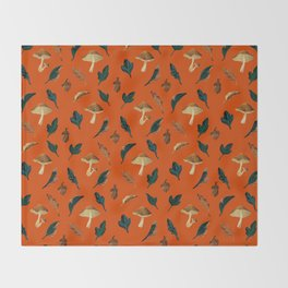 Forest Fruits Throw Blanket