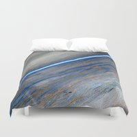 marble Duvet Covers featuring Marble by Santo Sagese