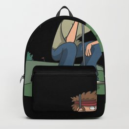 Golf at the hole Backpack