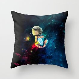 Baby Astronaut Throw Pillow