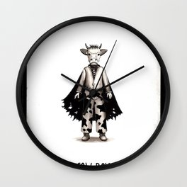 Cow boy Wall Clock