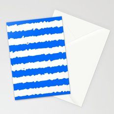 Blue Stripes Stationery Cards