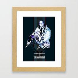 Neil Armstrong Tribute Framed Art Print