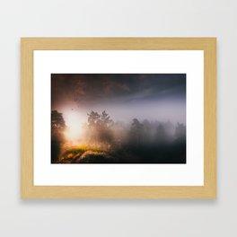Cleansing Framed Art Print