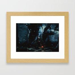 Queen of Nothing Framed Art Print