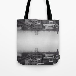 Collapse Tote Bag