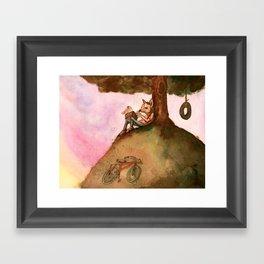 Storyteller Framed Art Print