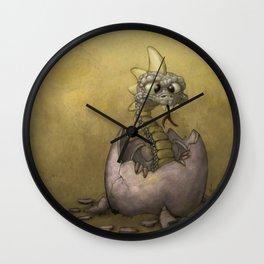 The Baby Dragon Wall Clock