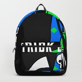 Trick or Treat Mean Hawaiin Reaper Backpack