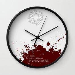 Grey Warden--Dragon Age Wall Clock