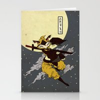 kitsune Stationery Cards featuring Kitsune by PD Design Studio