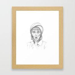 Ooooo! Framed Art Print