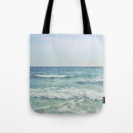 Ocean Crashing Waves Tote Bag