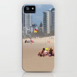 Sandcastles iPhone Case
