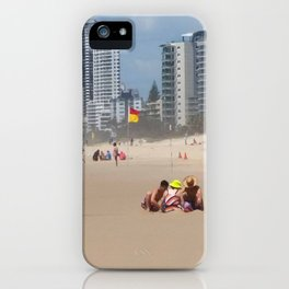 Sandcastles iPhone Case