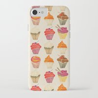 cupcakes iPhone & iPod Cases featuring Cupcakes by Cat Coquillette