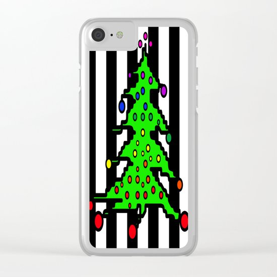 Christmas Tree | I Love Christmas Clear iPhone Case