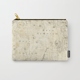 Antique Moon Map Carry-All Pouch