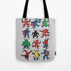 Keith Superheroes Tote Bag