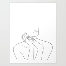 femme Kunstdrucke