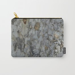 TEXTURES -- California Sycamore Bark Carry-All Pouch