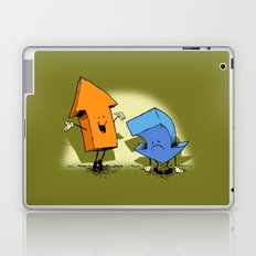 the up and down show! Laptop & iPad Skin
