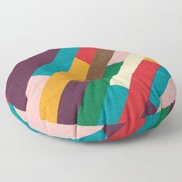 meridian purple Floor Pillow