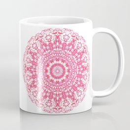 Mandala 12 / 2 eden spirit ruby red Coffee Mug