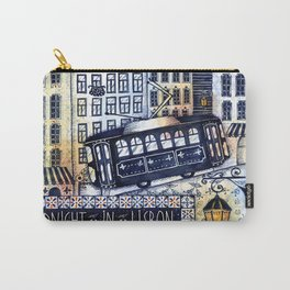 Midnight in Lisbon Carry-All Pouch