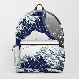 The Great Waves by Hokusai Backpack
