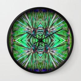 Sharp Circle Spikes Wall Clock
