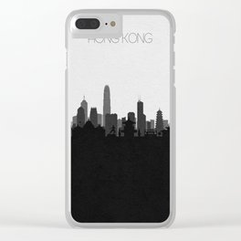 City Skylines: Hong Kong Clear iPhone Case