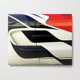Car Door Geometric Abstract Metal Print