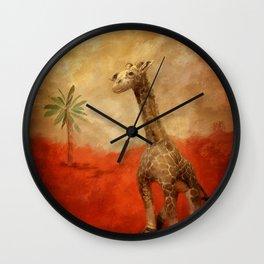 Block's Great Adventure Wall Clock