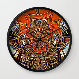 Subconscious Healing Frequency Wall Clock