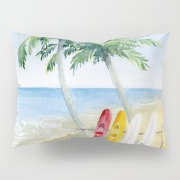 Tropical View Pillow Sham