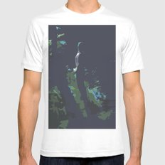 Glory SMALL White Mens Fitted Tee