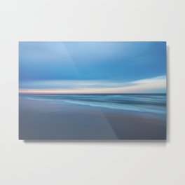 Painted Beach 1 Metal Print