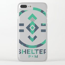 porter robinson & madeon shelter green Clear iPhone Case