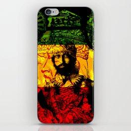 Haile Selassie Lion of Judah iPhone Skin