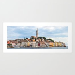 Rovinj, Croatia Panorama Art Print