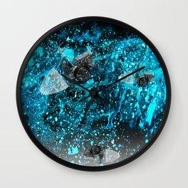 walk in space Wall Clock