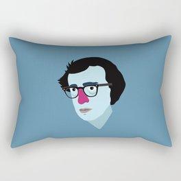 Woody Allen Rectangular Pillow