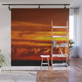 Sunset Layers | Ferntree Gully Wall Mural