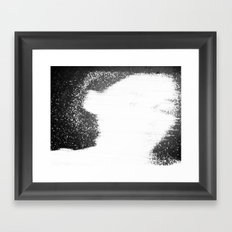 coal mining accident 2 Framed Art Print
