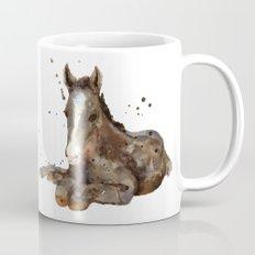 Horse painting, watercolor horse, horses Mug