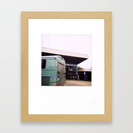 Costa Rica Polaroid #89 Framed Art Print