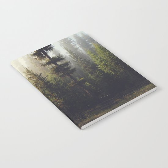 Sunrise Forest Notebook