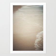 Where Land Meets Sea Art Print