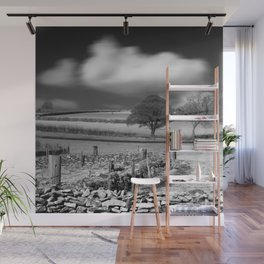 Cloud Wall Wall Mural
